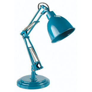 Paterson lamp, peacock blue