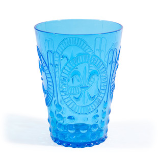 Blue Baroque goblet