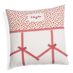 Cerise cushion cover