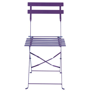 Set of 2 purple chairs Confetti