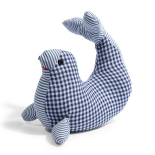 Blue Sea lion door stop