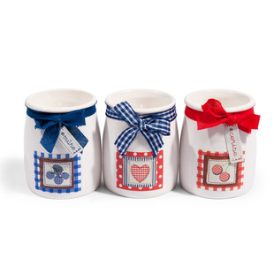 Assortment of 3 Guingette yoghurt candles