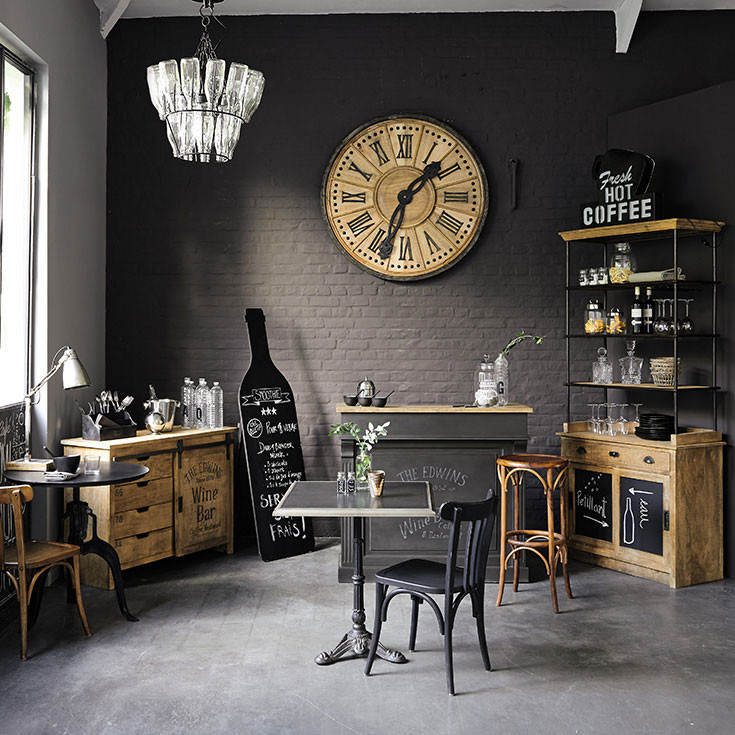meubles d co d int rieur industriel maisons du monde. Black Bedroom Furniture Sets. Home Design Ideas