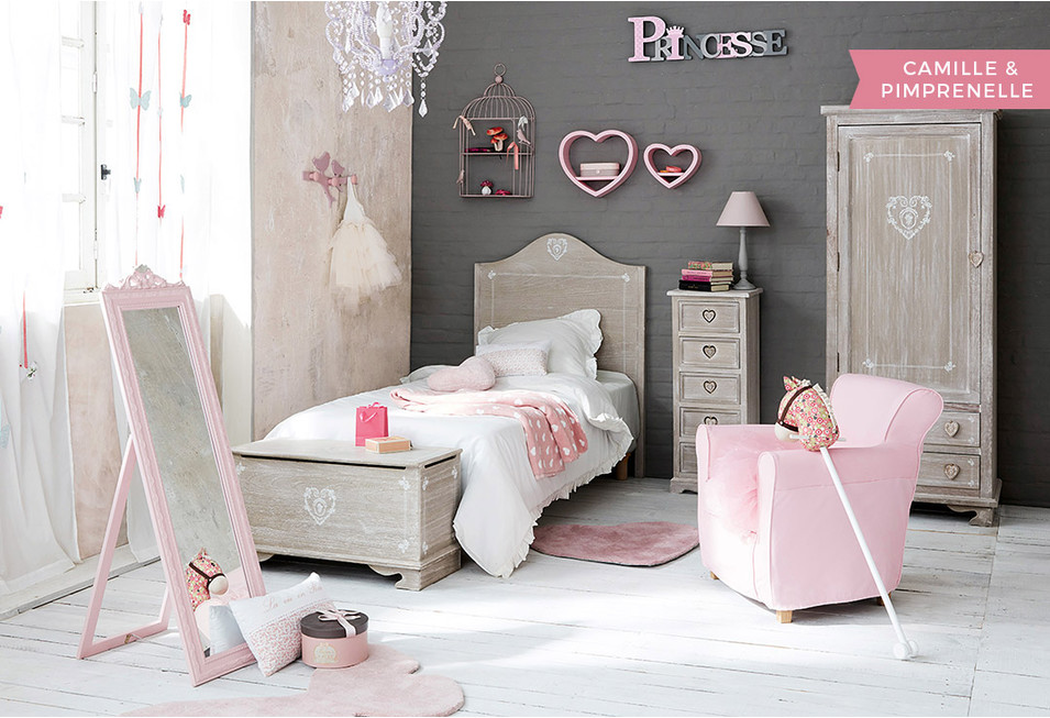 Chambre fille d co styles inspiration maisons du monde for Decoration chambre fille 3 ans