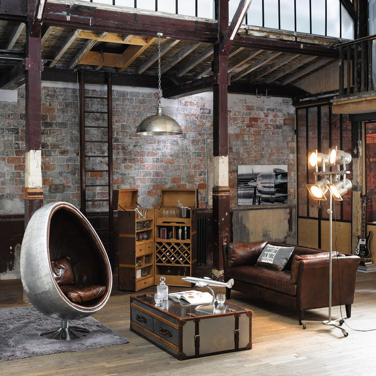 Meubles et d coration de style industriel loft factory for Lit style industriel