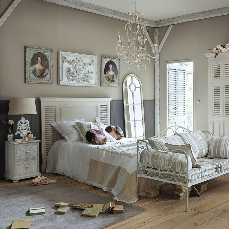 maison du monde chambre romantique avec des. Black Bedroom Furniture Sets. Home Design Ideas