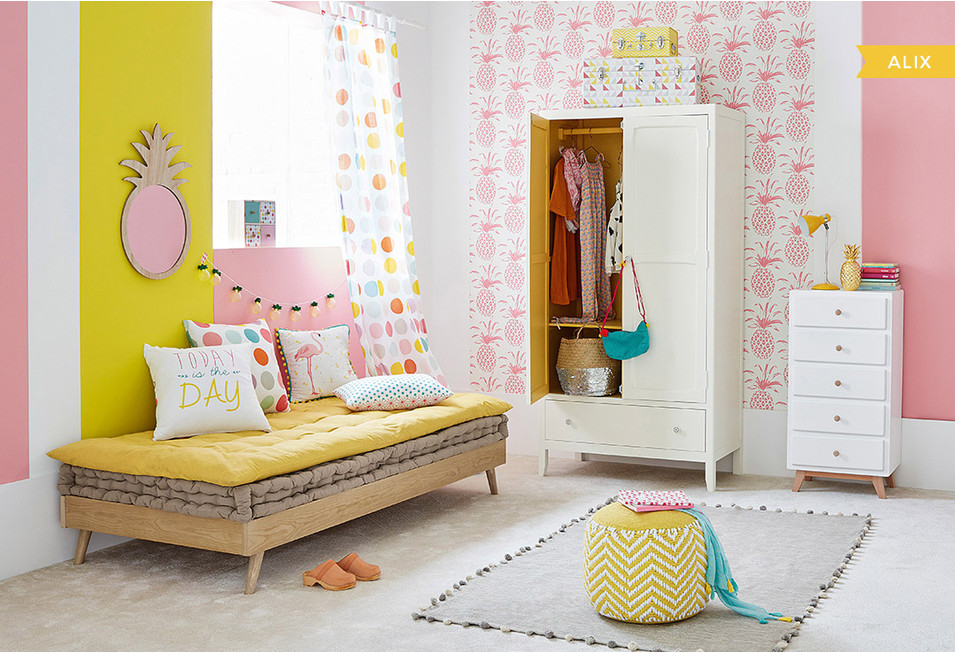 une chambre de fille stickers chambre bebe fille belgique. Black Bedroom Furniture Sets. Home Design Ideas