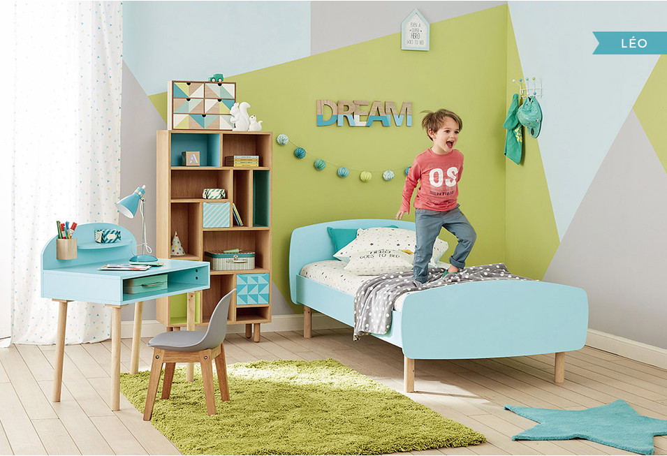 Chambre gar on d co styles inspiration maisons du monde for Photos chambre enfant