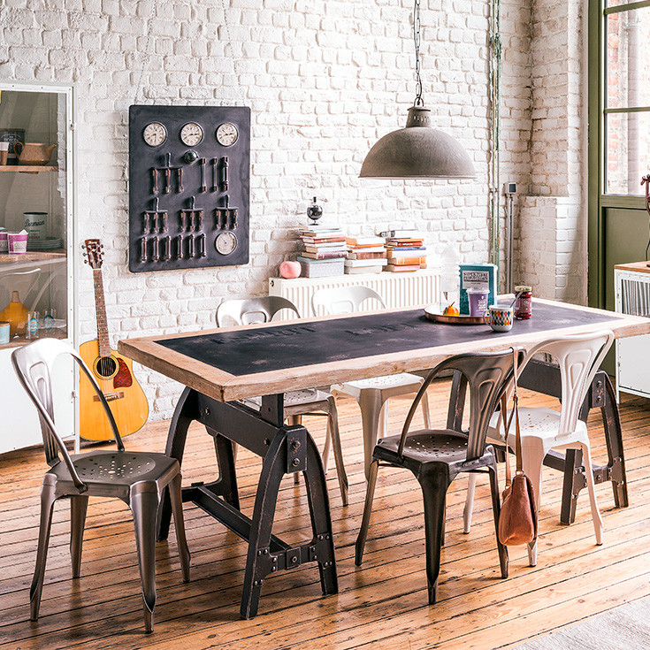 simple buffet industriel maison du monde with buffet industriel maison du monde. Black Bedroom Furniture Sets. Home Design Ideas
