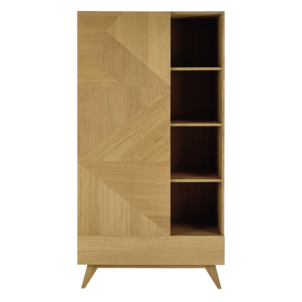 vintage teak storage in en danish cupboard sold