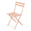 2 Pink Metal Folding Garden Chairs - Confetti