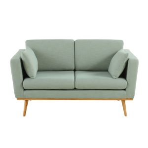 farbe - Couch Grau Stoff