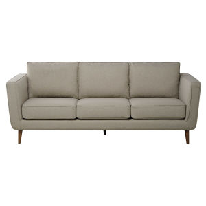3/4 seater Lemans fabric sofa in heather beige