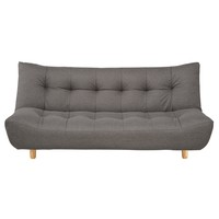 3 Seater Clic Clac Sofa Bed In Grey Cloud