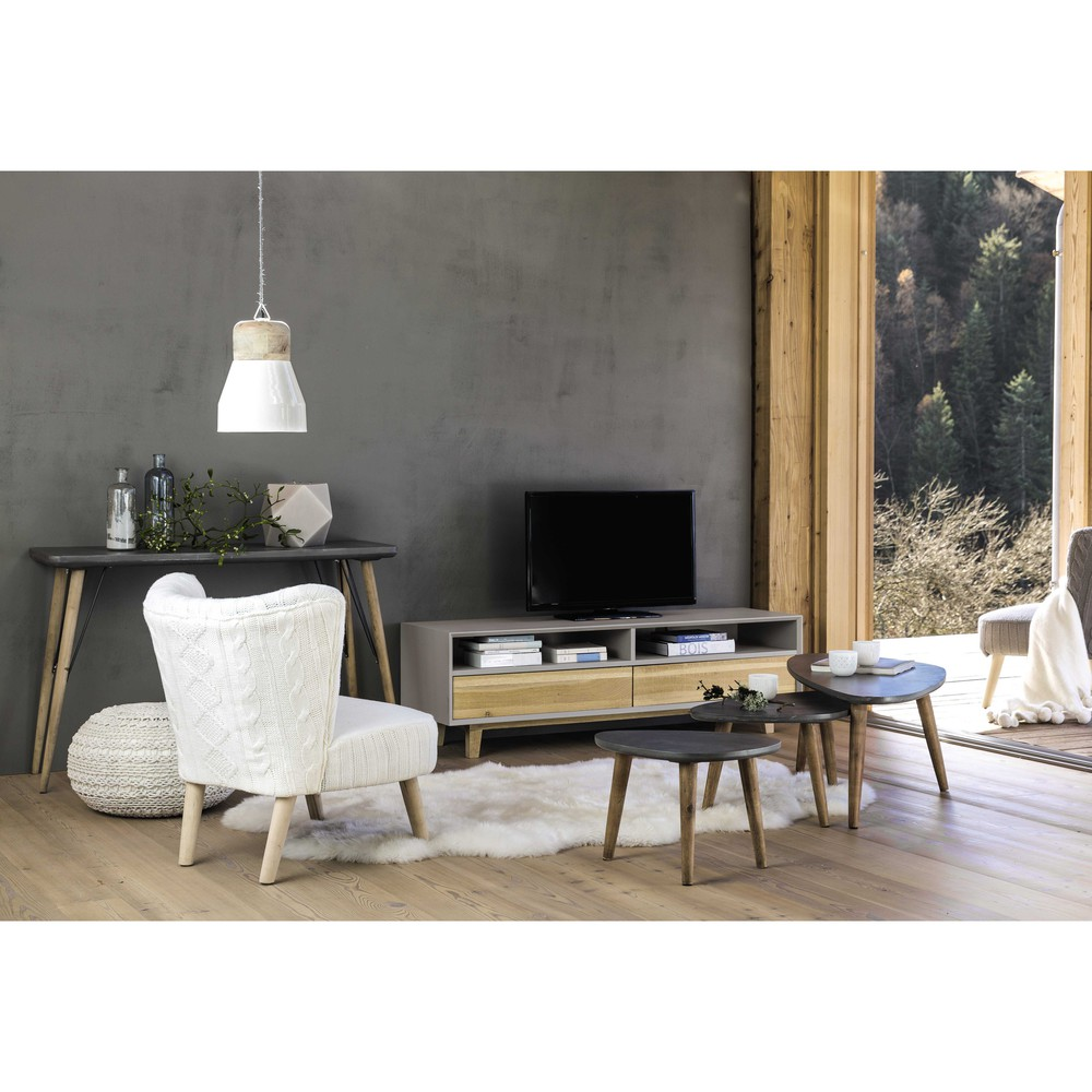 maison du monde table basse gigogne affordable table basse coloniale maison du monde with. Black Bedroom Furniture Sets. Home Design Ideas