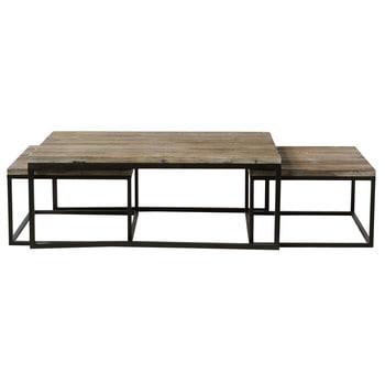 Style industriel meubles objets d co maisons du monde - Table basse up and down pas cher ...