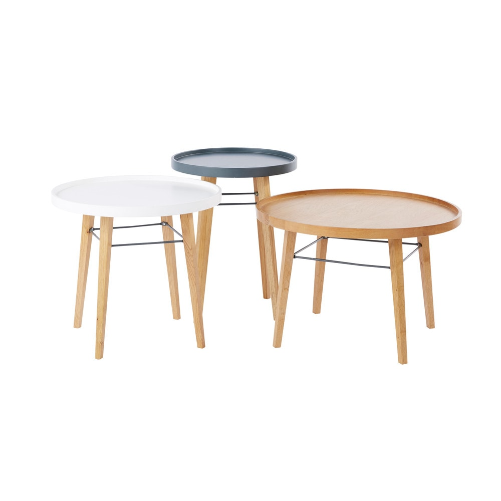3 tables basses Pilea (photo)