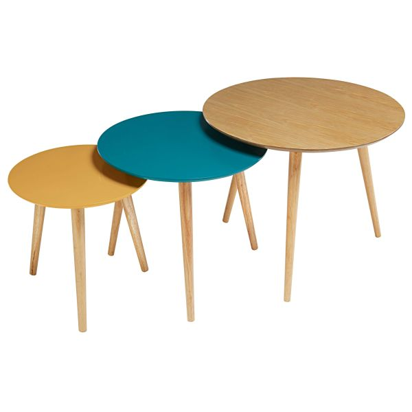 Table gigogne 4 for Maisons du monde table