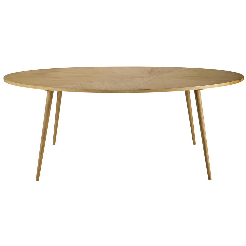 dining evans oval table