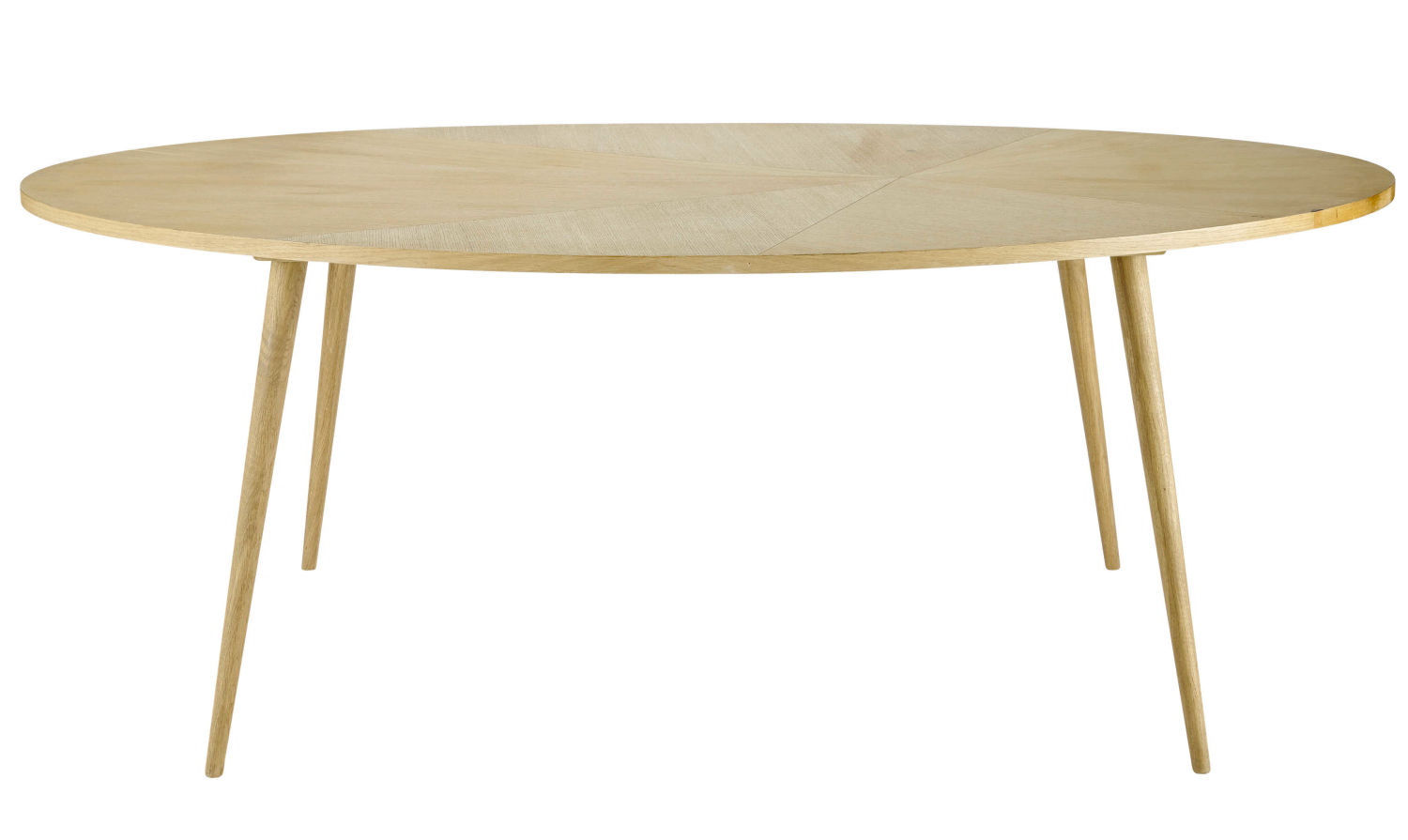 8 Seater Oval Dining Table L200 Maisons Du Monde