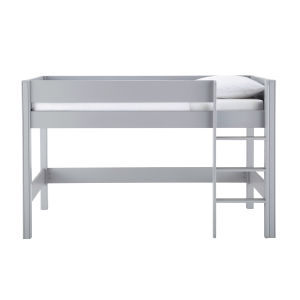 90x190 Child's Mezzanine Bed In Grey