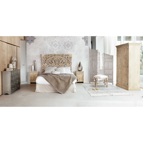 armoire en manguier massif l 100 cm himalaya maisons du monde. Black Bedroom Furniture Sets. Home Design Ideas