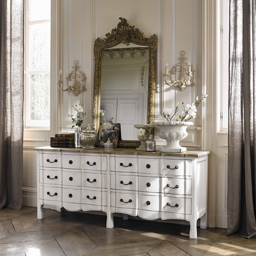 miroir en r sine dor e h 153 cm conservatoire maisons du monde. Black Bedroom Furniture Sets. Home Design Ideas