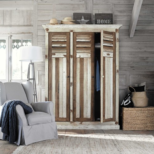 dressing en manguier l 160 cm porquerolles maisons du monde. Black Bedroom Furniture Sets. Home Design Ideas