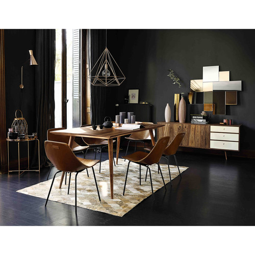 suspension en m tal cuivr d 60 cm iron copper maisons. Black Bedroom Furniture Sets. Home Design Ideas