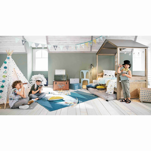 lit cabane enfant 90x190 forest maisons du monde. Black Bedroom Furniture Sets. Home Design Ideas
