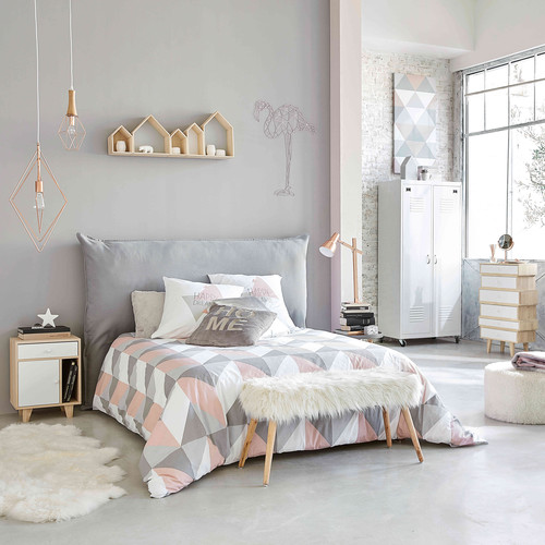 d co murale flamant rose en fil de m tal erika maisons du monde. Black Bedroom Furniture Sets. Home Design Ideas