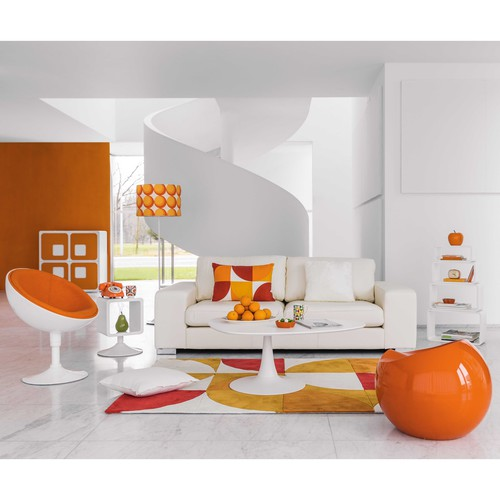 Taburete naranja karen maisons du monde for Small room karen zoid