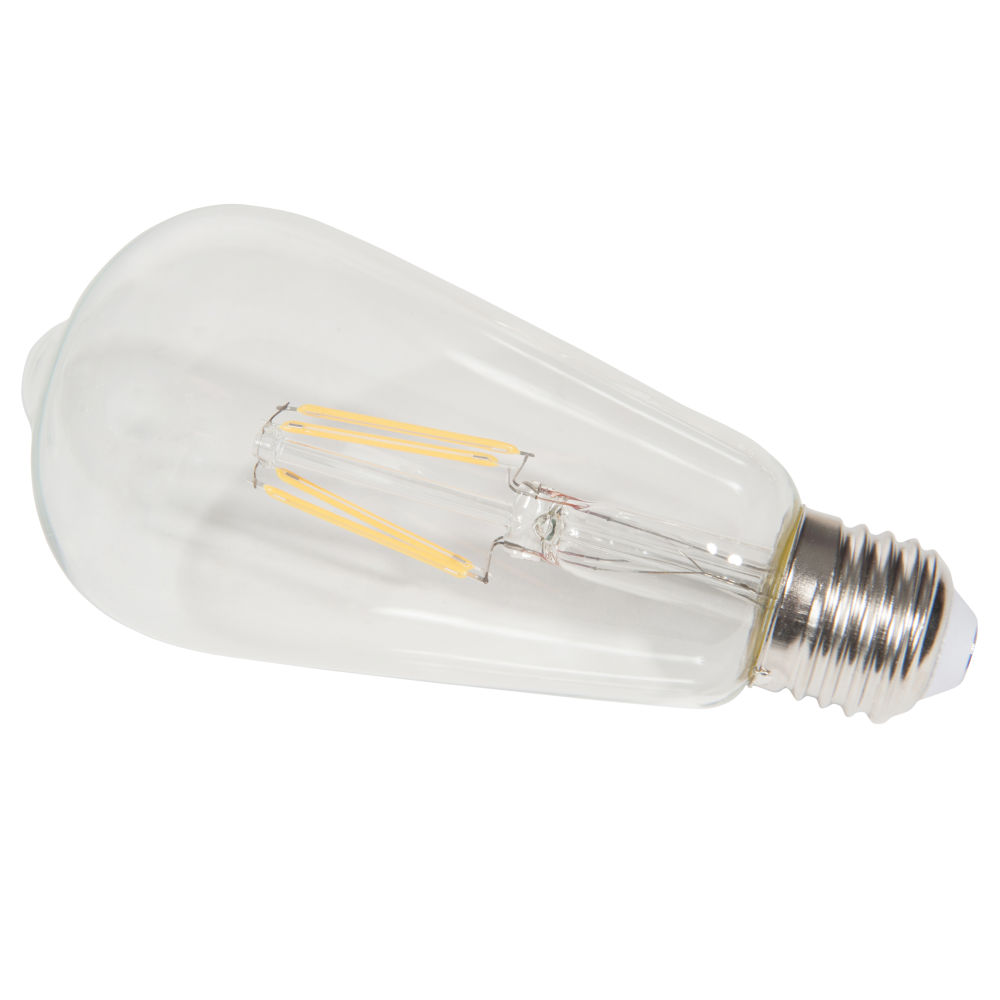Ampoule led en verre EDISON CLEAR (photo)
