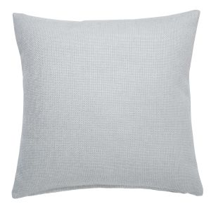 ANDY pearl grey cotton cushion 45 x 45 cm