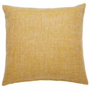 ANDY yellow fabric cushion 45 x 45 cm