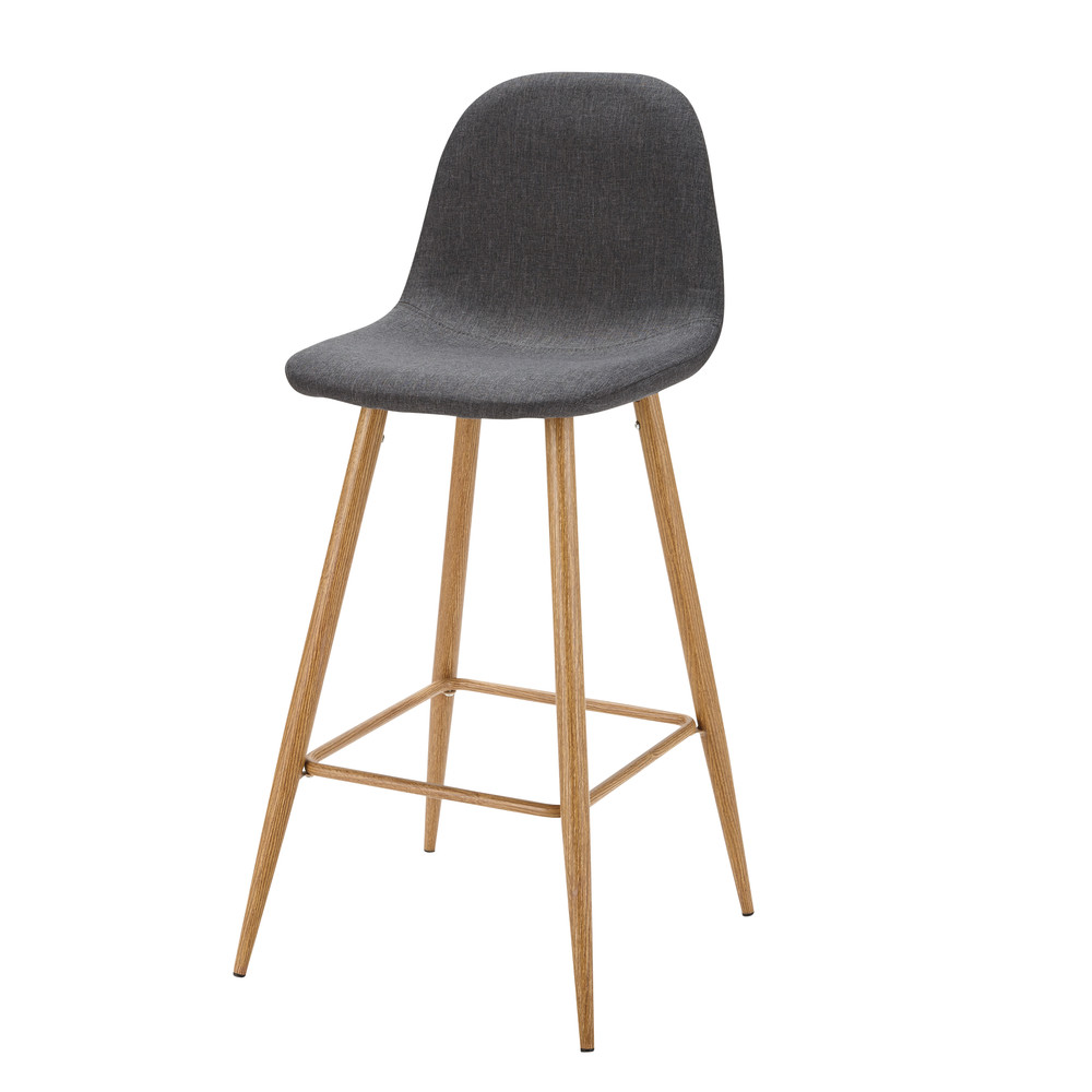 Anthracite Grey Fabric Bar Chair Description Characteristics Availability In This Look Clyde