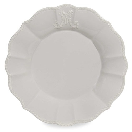 assiette plate bourgeoisie