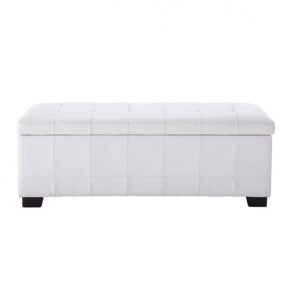 Bed end in white W 120cm