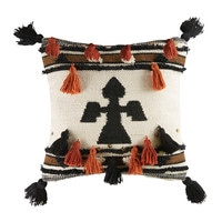 Berber Cushion with Graphic Motifs 45x45