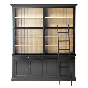 biblioth que et tag re maisons du monde. Black Bedroom Furniture Sets. Home Design Ideas