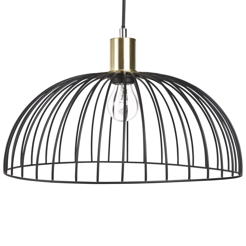 Black Wire Pendant Light | Maisons du Monde