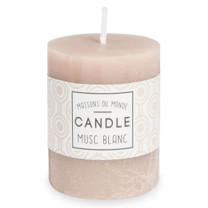 Bougie taupe VOTIVE