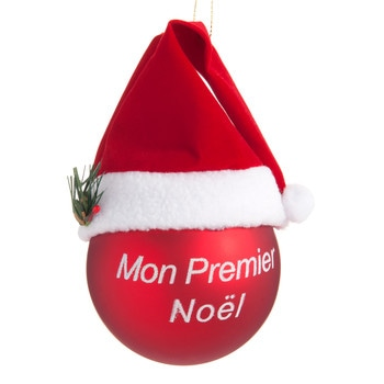 D coration du sapin tradition collection no l maisons - Boule de noel verre souffle ...
