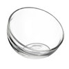 BUBBLE glass shallow bowl