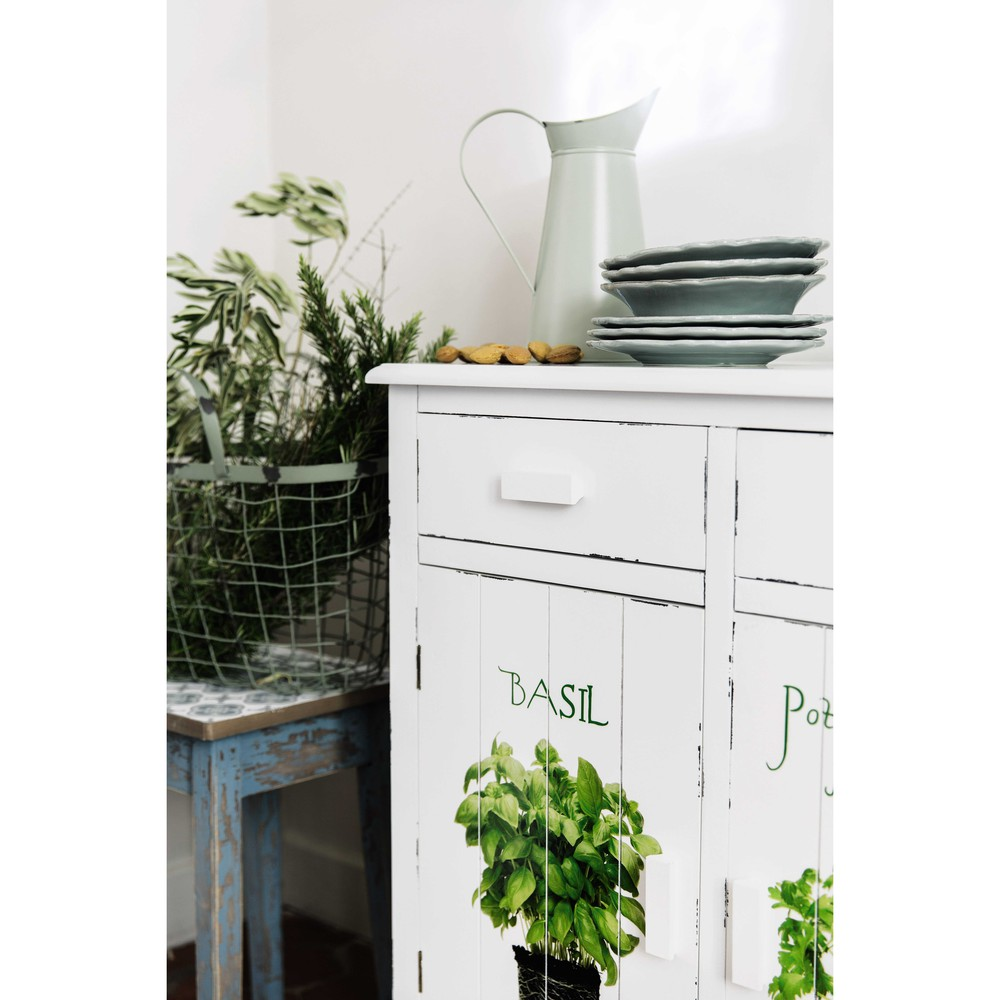 buffet cuisine bois grand buffet de cuisine 2 corps en bois blanc buffet en bois recycl. Black Bedroom Furniture Sets. Home Design Ideas