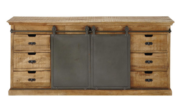 Buffet en manguier massif L 190 cm Germain