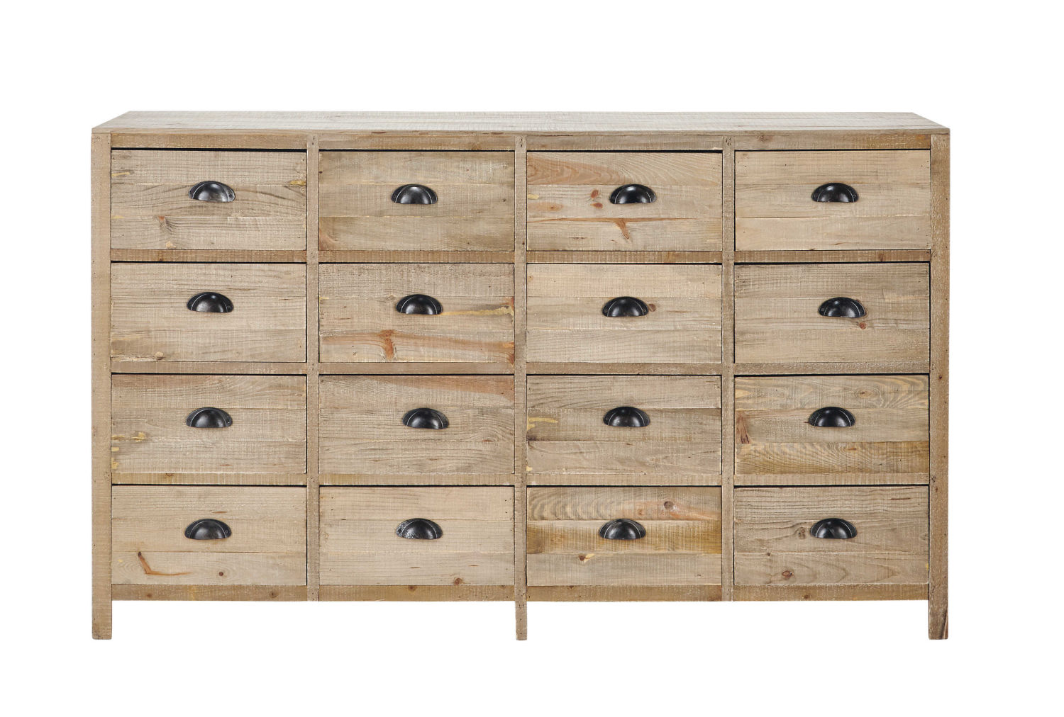 cabinet de rangement en sapin maisons du monde. Black Bedroom Furniture Sets. Home Design Ideas