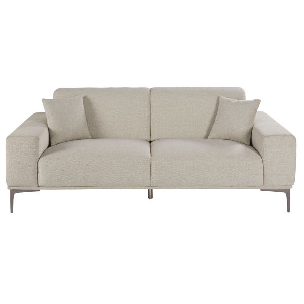 Canap cestpasleperou for Canape chesterfield tissu gris
