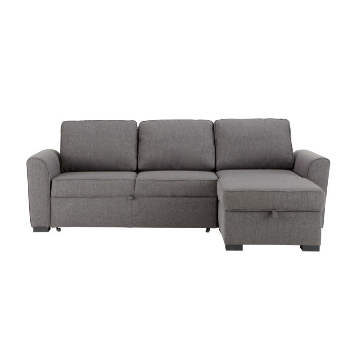 Canapé D Angle Convertible 3 4 Places Gris