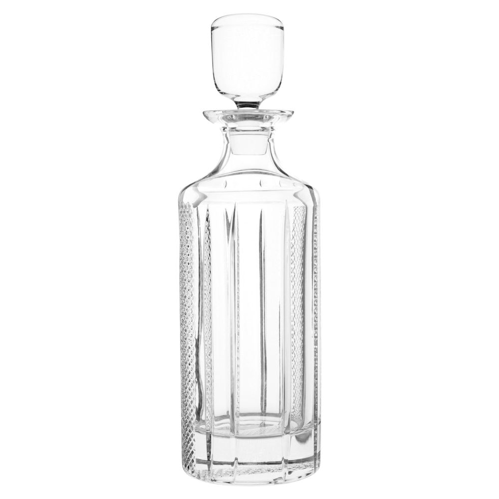 Carafe en verre taillé 75cL (photo)